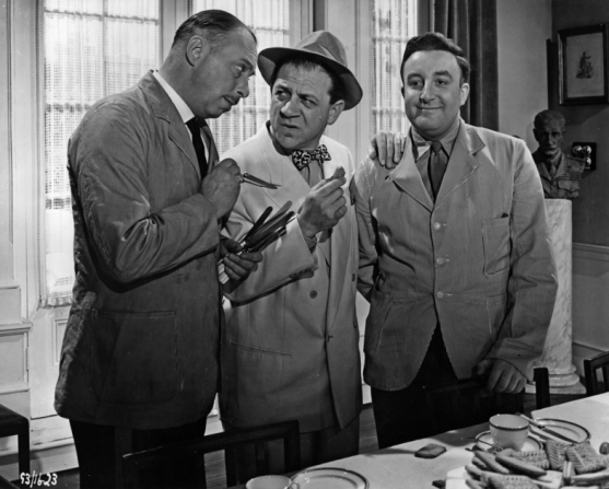 Bill Fraser, Peter Sellers, Sidney James