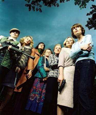 Amelia Bullmore, Anna Chancellor, Felicity Montagu, Emma Kennedy, Rachael Blake, Lucy Robinson, Cathryn Bradshaw
