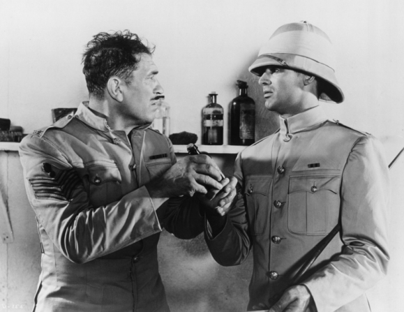 Victor McLaglen, Cary Grant