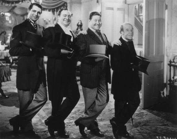 Cary Grant, Edward Arnold, Jack Oakie, Donald Meek
