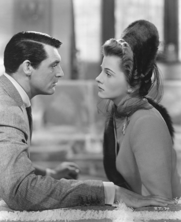 Joan Fontaine, Cary Grant