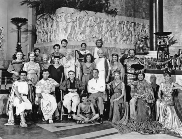 Robert Taylor, Deborah Kerr, Peter Ustinov, Ralph Truman