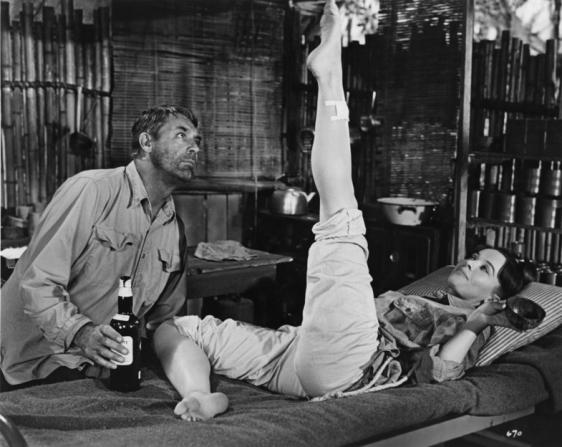 Cary Grant, Leslie Caron