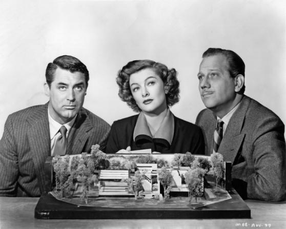 Cary Grant, Myrna Loy, Melvyn Douglas
