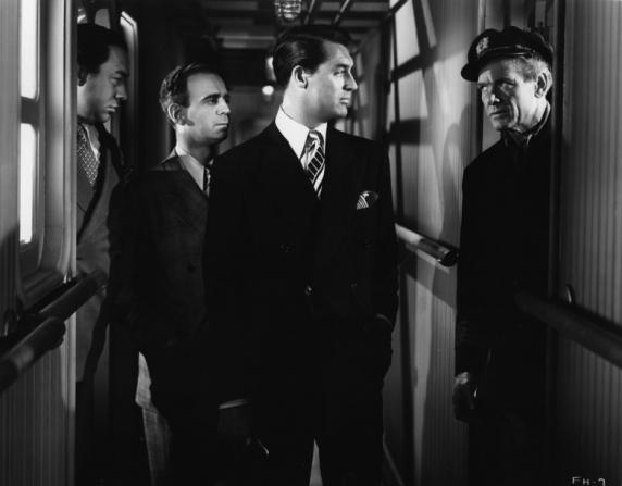 Paul Stewart, Cary Grant, Charles Bickford