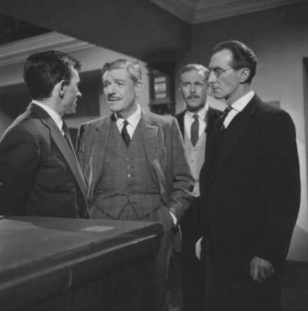 Barry Lowe, André Morell, Richard Vernon, Peter Cushing