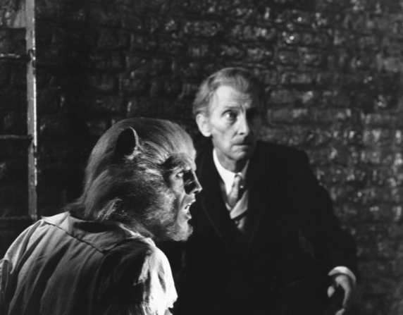 Peter Cushing, David Rintoul