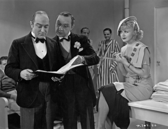 Eric Blore, Franklin Pangborn, Ginger Rogers