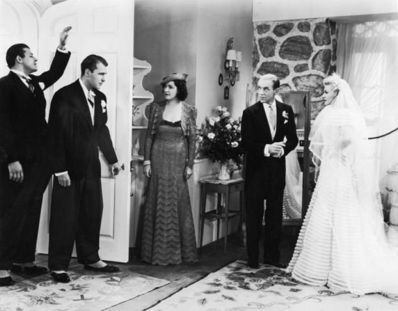 Ginger Rogers, Fred Astaire, Ralph Bellamy, Luella Gear, Jack Carson