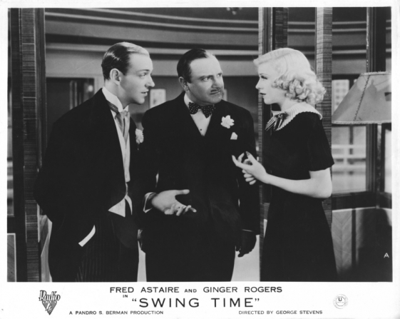 Fred Astaire, Eric Blore, Ginger Rogers