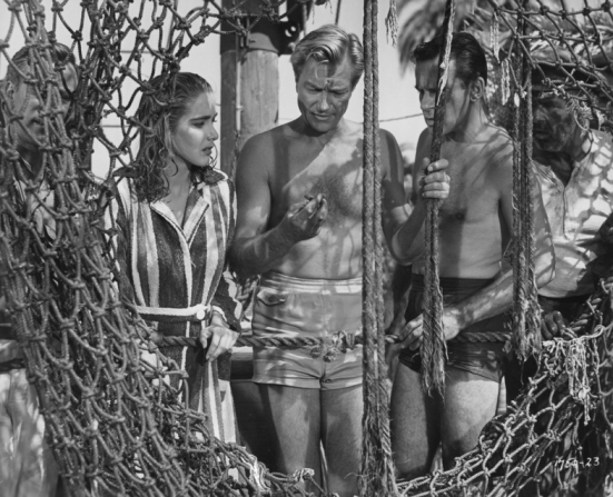 Julie Adams, Richard Denning, Richard Carlson