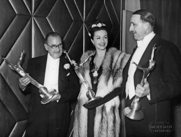 J. Arthur Rank, Herbert Wilcox, Margaret Lockwood