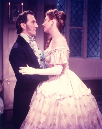 Peter Cushing, Hazel Court