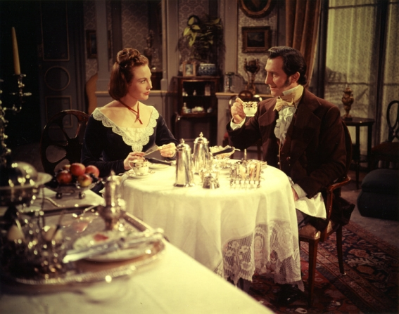 Hazel Court, Peter Cushing