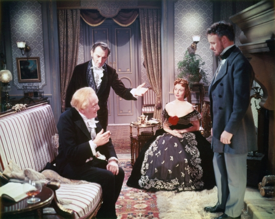 Paul Hardtmuth, Peter Cushing, Hazel Court, Robert Urquhart