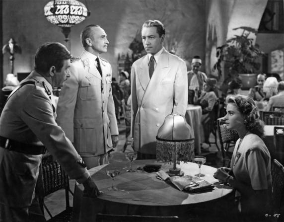 Conrad Veidt, Claude Rains, Paul Henreid, Ingrid Bergman