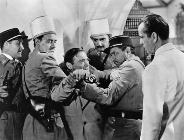 Peter Lorre, Humphrey Bogart