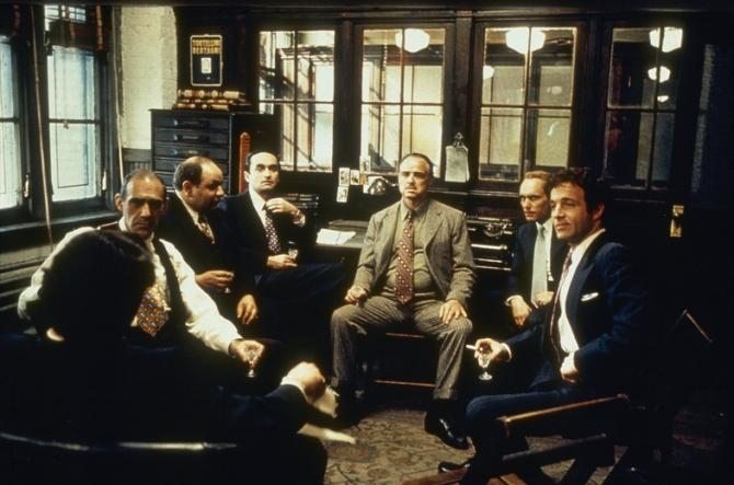 Ben Welden, Marlon Brando, Robert Duvall, James Caan