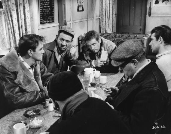 Stanley Baker, Sidney James, Patrick McGoohan, Sean Connery