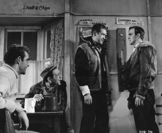 Sean Connery, Sidney James, Patrick McGoohan, Stanley Baker
