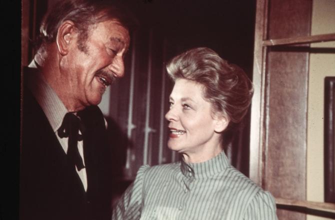 John Wayne, Lauren Bacall