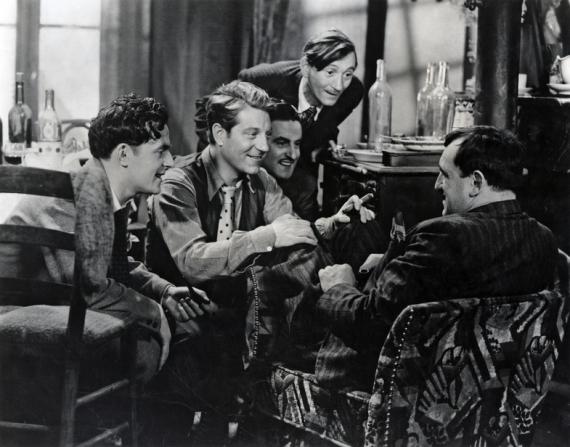 Jean Gabin, Raphaël Médina, Aimos, Charles Vanel
