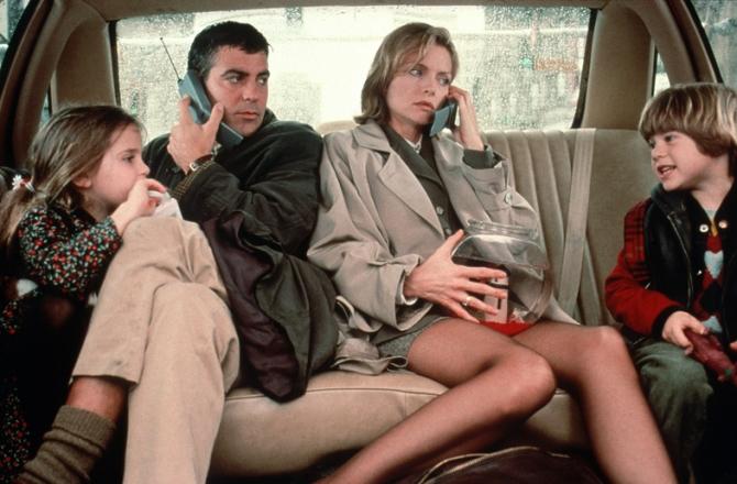 Mae Whitman, George Clooney, Alex D. Linz