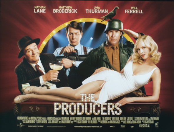 Nathan Lane, Matthew Broderick, Uma Thurman, Will Ferrell