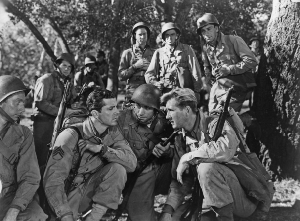 Sterling Holloway, Dana Andrews, John Ireland, Lloyd Bridges, Richard Conte