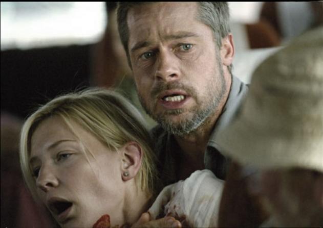 Cate Blanchett, Brad Pitt