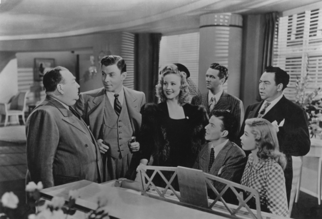 Frank Sinatra, Gloria De Haven, George Murphy