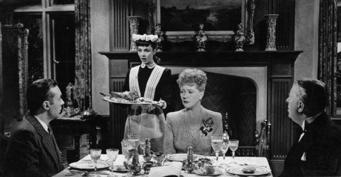 Charles Boyer, Jennifer Jones, Margaret Bannerman, Reginald Owen