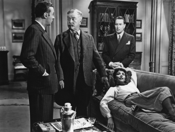 Charles Boyer, Billy Bevan, Reginald Gardiner, Jennifer Jones