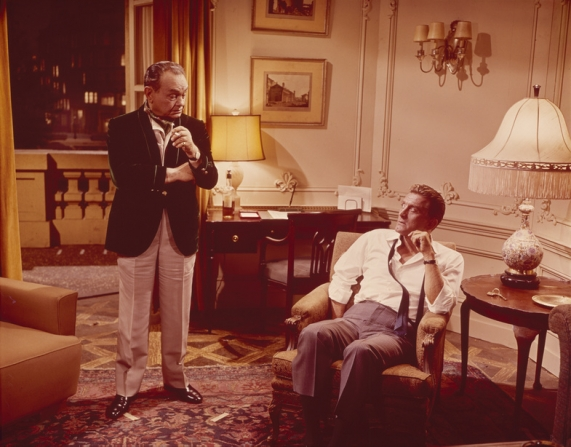 Edward G. Robinson, Kirk Douglas