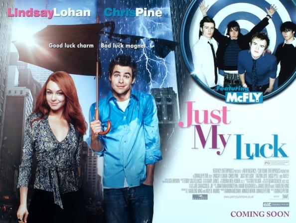 Lindsay Lohan, Chris Pine, Mcfly