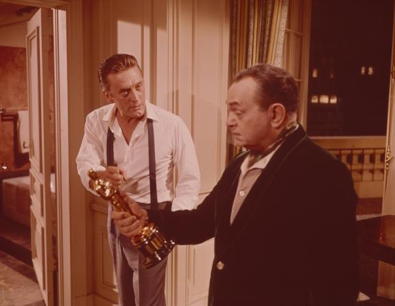 Kirk Douglas, Edward G. Robinson