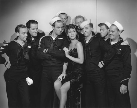 Dorothy Lamour, William Holden, Eddie Bracken