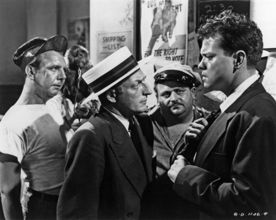 Gus Schilling, Everett Sloane, Orson Welles