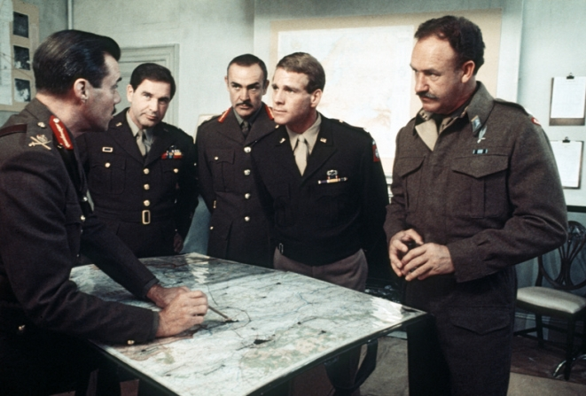 Dirk Bogarde, Sean Connery, Ryan O'neal, Gene Hackman