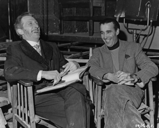 Peter Cushing, Christopher Lee