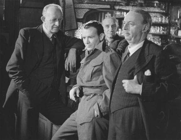 Herbert Lomas, John Mills, Frederick Allen, Miles Malleson
