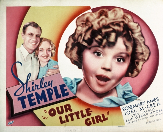 Shirley Temple, Rosemary Ames, Joel McCrea