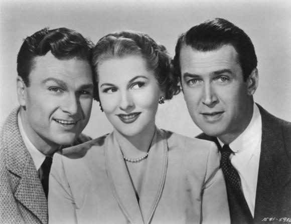 Joan Fontaine, Eddie Albert, James Stewart