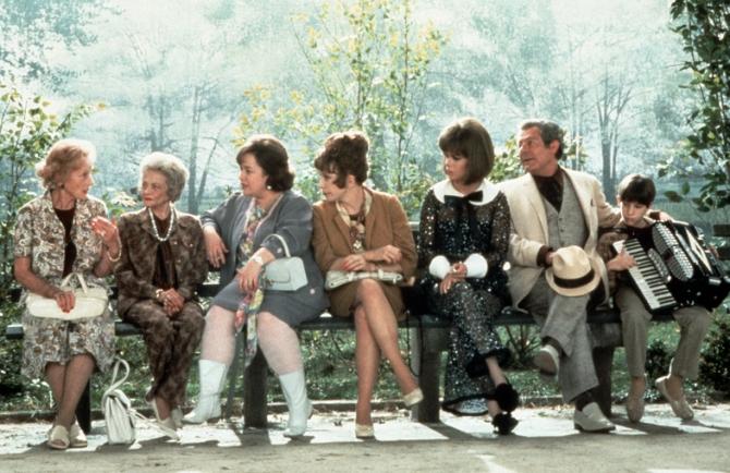 Jessica Tandy, Kathy Bates, Shirley MacLaine, Marcello Mastroianni