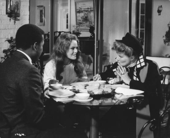 Katharine Houghton, Sidney Poitier, Katharine Hepburn