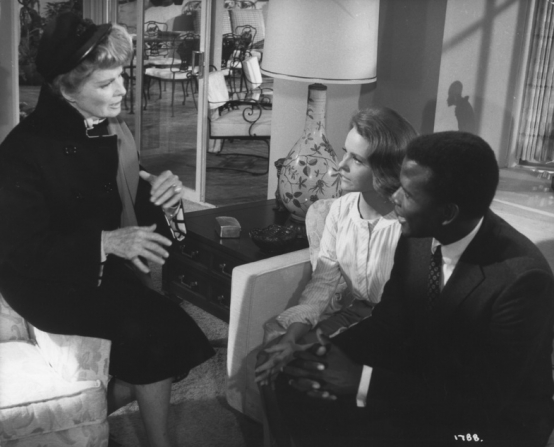 Katharine Hepburn, Sidney Poitier, Katharine Houghton