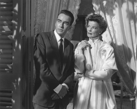 Montgomery Clift, Katharine Hepburn