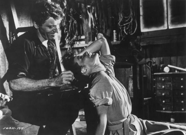 Katharine Hepburn, Burt Lancaster