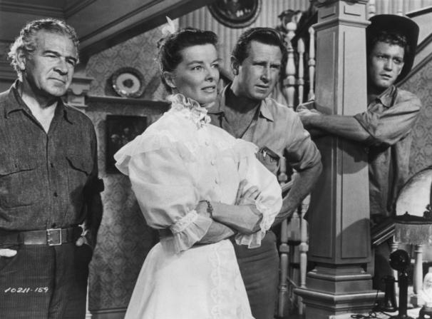 Katharine Hepburn, Cameron Prud'homme, Lloyd Bridges, Earl Holliman