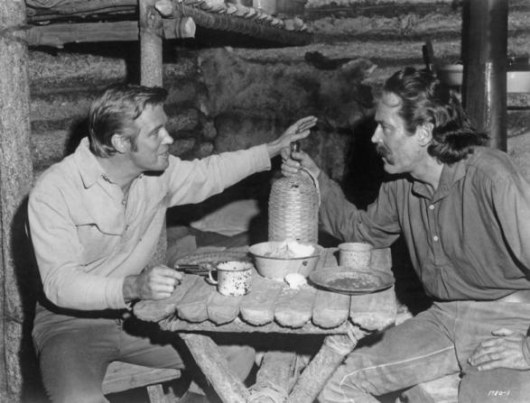 George Peppard, Henry Fonda